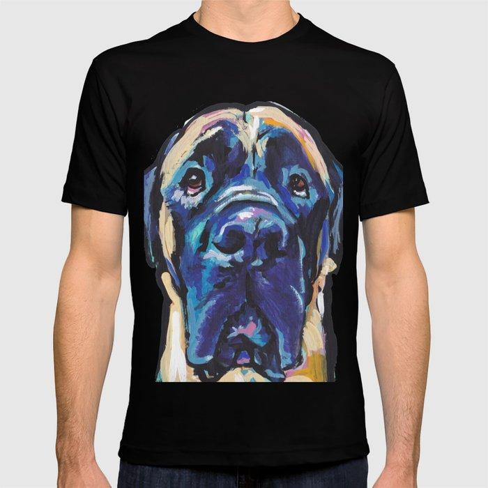 Fun English Mastiff Dog Bright Colorful