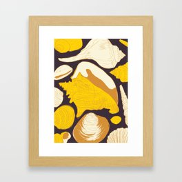 By the seashore Framed Art Print