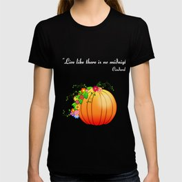 """""""Live like there is no midnight"""" Cinderella T-shirt"""