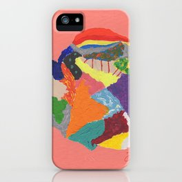 Creative Emotions iPhone Case