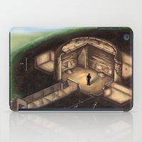 tomb raider iPad Cases featuring Maeshowe Tomb by Rushelle Kucala Art