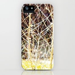 Nature finds the way inside... and outside... Everywhere! iPhone Case