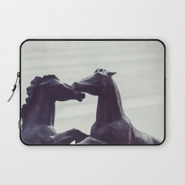 Bronze Horses - Sheridan, WY Laptop Sleeve