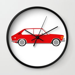 Little Red 2002 Touring Wall Clock