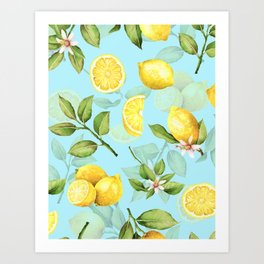 Vintage & Shabby Chic - Lemonade Art Print