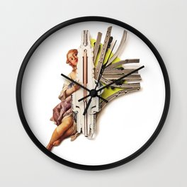 Sparklette | Collage Wall Clock