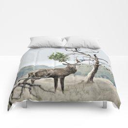 Mystical Deer Comforters