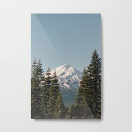 Mt Shasta Morning Metal Print