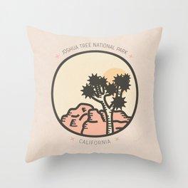 Icons: Joshua Tree One Throw Pillow