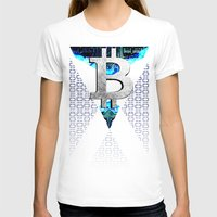 scotland T-shirts featuring bitcoin scotland by seb mcnulty