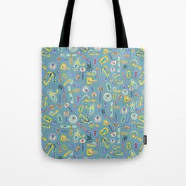 Moving Home House Warming - Blue Tote Bag
