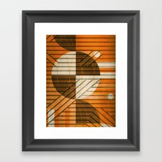 Module of Support Framed Art Print