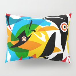 pajaros Pillow Sham