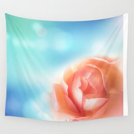 December Rose Wall Tapestry