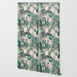 Tropical Jungle Leaves Garden #2 #tropical #decor #art #society6 Wallpaper