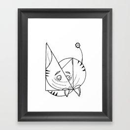 Kat Kat Framed Art Print