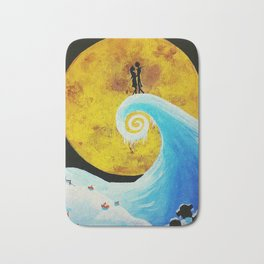 Simply Meant To Be - Nightmare Before Christmas Fan Art Bath Mat