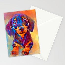 Dachshund 10 Stationery Cards