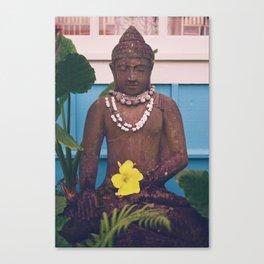Vintage Kauai Buddha Canvas Print