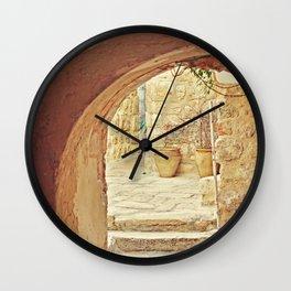 Jerusalem Courtyard Wall Clock