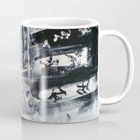 singapore Mugs featuring Singapore II by Kasia Pawlak