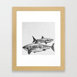 Great Friends Framed Art Print