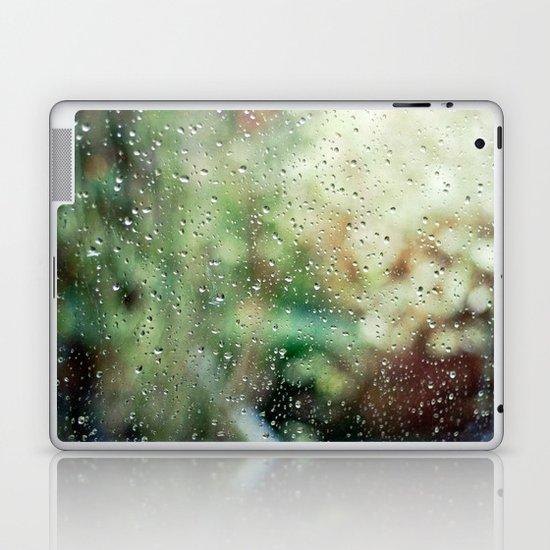 Raindrops Laptop & iPad Skin
