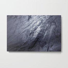 Ice age, silver Metal Print
