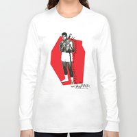 ali Long Sleeve T-shirts featuring Ali by Dayle Kornely