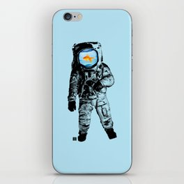 Goldfish Astronaut iPhone Skin