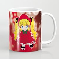 chibi Mugs featuring Chibi Shinku by Yue Graphic Design