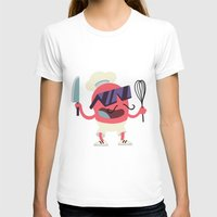 chef T-shirts featuring Cool Chef by Sergei Dragunov