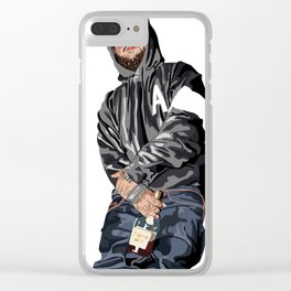 A$AP YAMS Clear iPhone Case