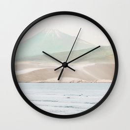 Collage Mountain10 Wall Clock