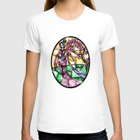 mulan T-shirts featuring Stained Glass Mulan by Callie Clara