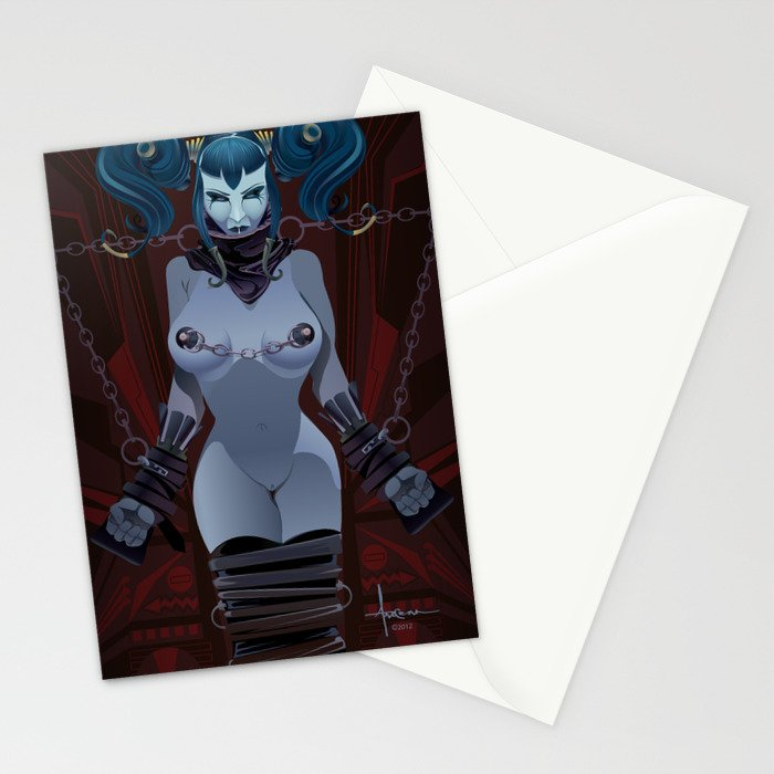 DEVIOUSLY FETTERED Stationery Cards