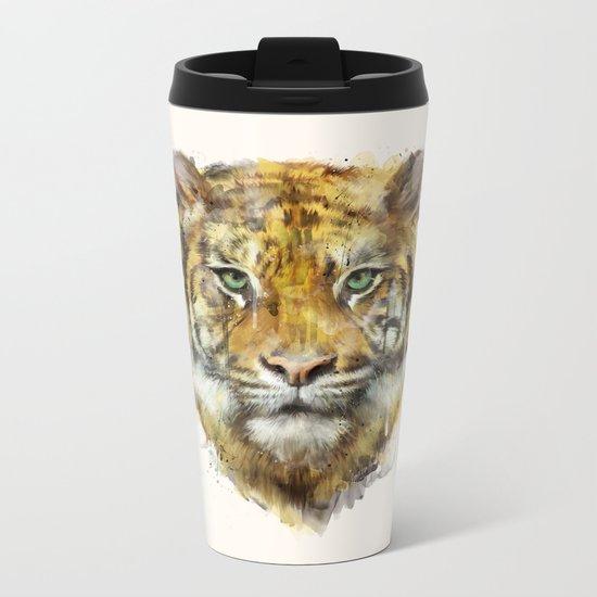 Tiger // Strength Metal Travel Mug