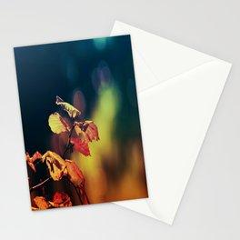 Hazelnuttree in Autumnlight Stationery Cards