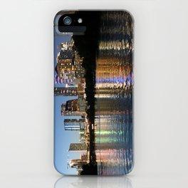 Austin, Texas skyline - city lights iPhone Case