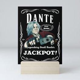 DMC5 DISTILLED:  Jackpot Dante Mini Art Print