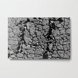 Bitume Metal Print