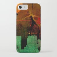 takmaj iPhone & iPod Cases featuring Jump on the green city by Ganech joe