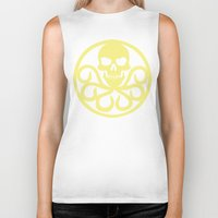hydra Biker Tanks featuring Hail Hydra by Popp Art