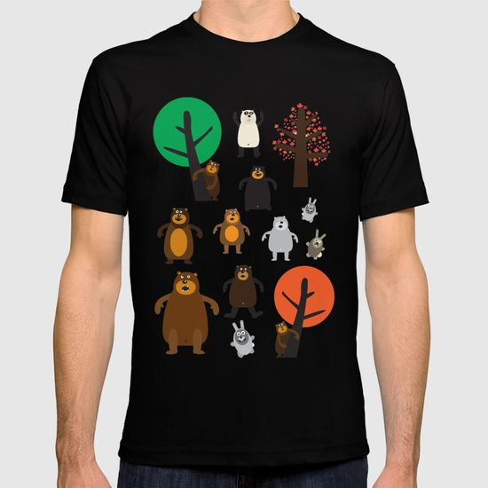 Bears, grizzly and other T-shirt
