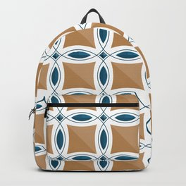Circles with lens pattern and Diamond Backpack
