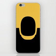 Daft Gold iPhone Skin