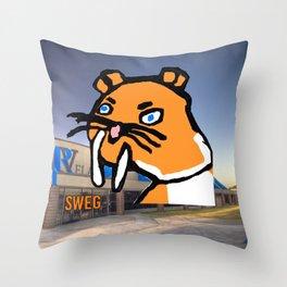 Sobercat Collection #1 Throw Pillow