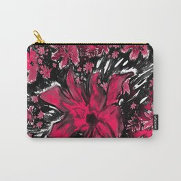 Red red flower Carry-All Pouch