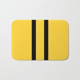 Bruce Bee Bumble Lee Stripes Bath Mat