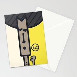 BLACK! Stationery Cards